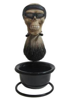 Biker Skull Brush