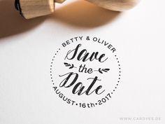 Save-the-Date Stempel • Stempel für Hochzeit • Persönlicher Stempel • DIY Einladungen • Save-the-Date-Karten von CardYesShop auf Etsy https://www.etsy.com/de/listing/471073063/save-the-date-stempel-stempel-fur