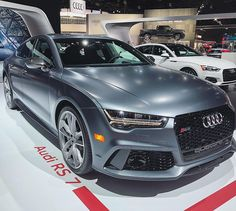 The RS7 is here on display December 1-10 at the #LAAutoShow. Its that time LA