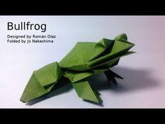 ▶ Origami Bullfrog (Román Díaz) - YouTube