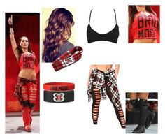 A fashion look from May 2015 featuring stretchy leggings and nylon bra. Browse and shop related looks. Wwe Halloween Costume, Wwe Costumes, Halloween Costumes For Girls, Halloween Ideas, Halloween Makeup, Wrestling Outfits, Wwe Outfits, Female Outfits, Party Outfits