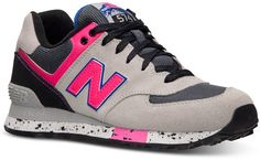 2753e36c4af7a New Balance Women's 574 Casual Sneakers from Finish Line Shoes - Finish  Line Athletic Sneakers - Macy's
