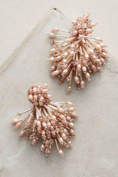 Beaded Burst Earrings