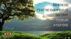 Don't let mundane details of life fill your year. Resolve instead to fill 2015 with life, genuine love and kindness.