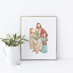 "LDS Paintings and Portraits's Instagram photo: ""This year many of us will experience a different Mother's Day. But we can always find hope in Jesus Christ. I love this quote by Dieter F.…"""