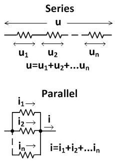 series parallel circuit formula series circuit