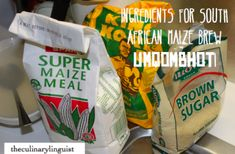 How to make South African beer – uMqombhothi from Maize Meal – The Culinary Linguist Beer Recipes, Curry Recipes, Salted Caramel Fudge, Salted Caramels, Oxtail, South African Recipes, Oreo Cake, Russian Recipes, Fritters