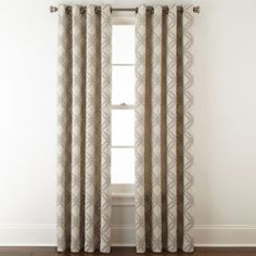 FREE SHIPPING AVAILABLE! Buy JCPenney Home™ Teagan Grommet-Top Curtain Panel at JCPenney.com today and enjoy great savings.