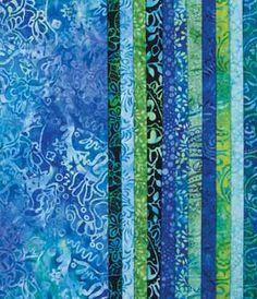 CARIBBEAN WATER BATIK COLOR STORY COLLECTION