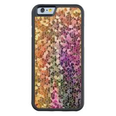 Rainbow Mosaic iPhone 6 Cases Maple iPhone 6 Bumper