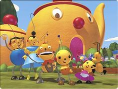 Rolie Polie Olie/ Watched this with my youngest all the time.  Great show!
