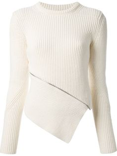 Shop Alexander Wang zip peel away sweater in Nugnes 1920 from the world's best independent boutiques at farfetch.com. Over 1000 designers from 300 boutiques in one website.
