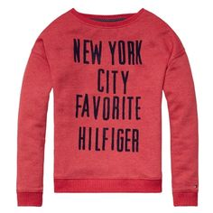 Tommy Hilfiger T-shirt lange mouw | Winter collectie | kleertjes.com #Newyork #fashion #kids #kinderkleding #kidsfashion #meisjeskleding #girls #trends