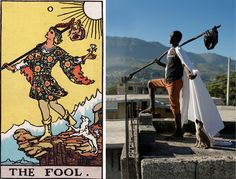 alice smeets brings tarot cards to life on the streets of haiti