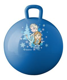 Hedstrom 7 inch Inflatable Bouncing Rubber Playground Ball Disney Frozen Olaf