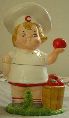 Campbells Tomato Soup Kid Cookie Jar