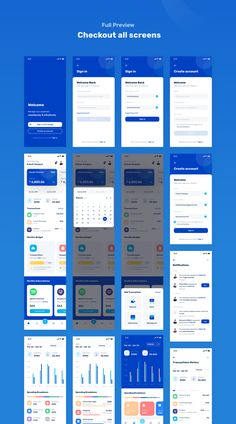 Banky – Finance App UI Kit — UI Kits on – Finance tips, saving money, budgeting planner Mobile App Design, Android App Design, Mobile App Ui, Logo Design, App Ui Design, Interface Design, Ui Kit, App Login, Ios App