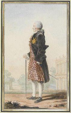 Le Marquis de Montmort / By Carmontelle.