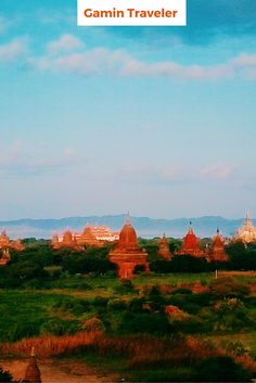 Amazing sunrise in Bagan. Bagan is the place that you can't miss visitng Myanmar. Full of temples and great views.