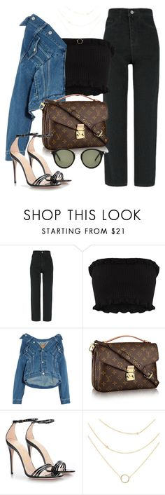 """""""Untitled #3288"""" by camilae97 ❤ liked on Polyvore featuring Balenciaga, Gucci and Yves Saint Laurent"""