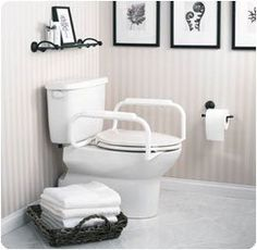 Toilet Safety Rail  Model 554864 <3 This is an Amazon Associate's Pin. Locate the item on Amazon website simply by clicking the image.