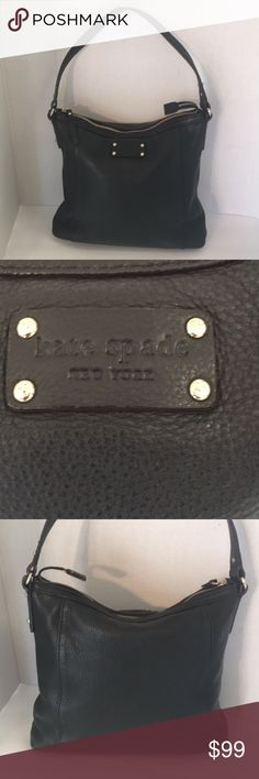 I just added this listing on Poshmark: Kate spade black soft pebbled leather shoulder bag. #shopmycloset #poshmark #fashion #shopping #style #forsale #kate spade #Handbags