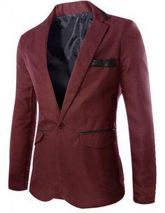 Men Suit Jacket 2016 Autumn New Blazers Men Casual Mens Suit Jacket Long  Fashion Single Button Slim Fit Blazer Hombre Masculino 9f87141db