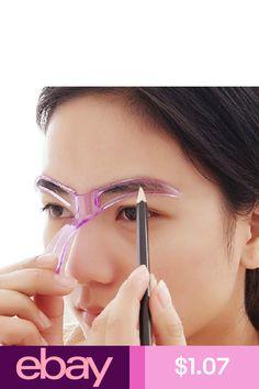 15Pcs Set Eyebrow Stencil Eye Brow DIY Drawing Guide Styling ...