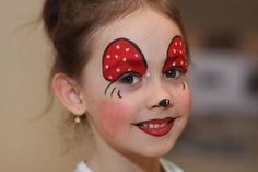 Simple face painting designs are not hard. Many people think that in order to have a great face painting creation, they have to use complex designs, rather then Minnie Mouse Face Painting, Disney Face Painting, Christmas Face Painting, Body Painting, Face Painting Tutorials, Face Painting Designs, Cheetah Face, Tribal Face, Art Visage