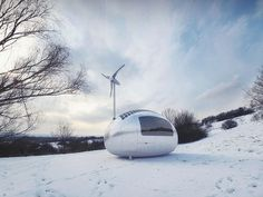 This Eco-Friendly Capsule Home Would Let You Live Off The Grid Anywhere In The World | IFLScience