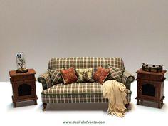 Miniature sofa - 1/12 Scale