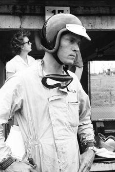 Dan Gurney at the German Grand Prix 1963 – photo by Erwin Jelinek / Technisches Museum Wien