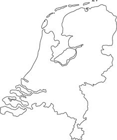 netherlands outline map Holland Country, Netherlands Country, Netherlands Map, Map Outline, Outline Drawings, Map Tattoos, Body Art Tattoos, Tatoos, Dutch Tattoo