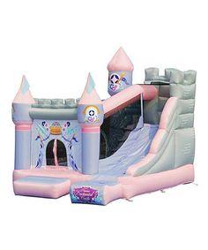 Look at this #zulilyfind! Enchanted Castle Slide Bounce House #zulilyfinds