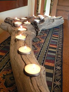 Driftwood, Large center piece, wedding decor, rustic candle holder, Driftwood candle holder, Cabin decor, Rustic Cabin decor, mens gift