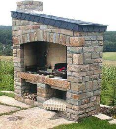 achat en ligne de barbecue en pierre taillée pas cher