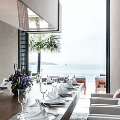 Phuket Holiday ViIla #phuket #thailand #asianluxuryvillas _____________________ Part of the exclusive private development of Cape Yamu a design collaboration by accomplished architects Jean-Michel Gathy and Phillipe Starck the villa is a perfect symbiosis of a contemporary and Thai style villa