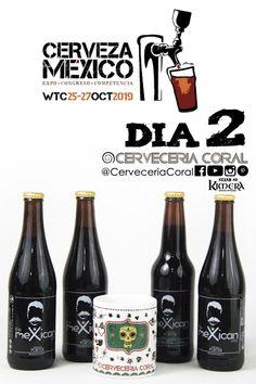 compra 4 cervezas de @cerveceriacoral y pide tu taza coleccionable del evento Cerveza-México / Cerveza Mexico 2019.  @expocervezamexico #expocervezaméxico #cervezaartesanal #cervezamexicanmx #cerveceriacoral Coral, Beer Bottle, Drinks, Drinking, Beverages, Beer Bottles, Drink, Beverage