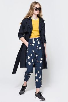 8 Go-To Brands For Changing Up Your Office Look #refinery29  http://www.refinery29.com/2016/06/112132/workwear-for-summer#slide-2  GanniWith Ganni's quirky prints and color palettes, you can officially dub yourself the queen of casual Friday. Here, office staples feel more like stylish statement-makers, making corporate duds a thing o...