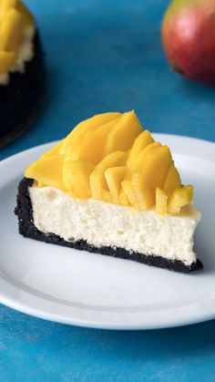 Mango Flower Cheesecake Dear Cheesecake, I think about you all the time. No Bake Mango Cheesecake – the most beautiful and…Cheesecake and vogueCreme Brûlée Cheesecake Salted Caramel Cheesecake, Mango Cheesecake, Cheesecake Recipes, Dessert Recipes, Halloween Food For Party, Mango Flower, Love Food, Baking Recipes, Sweet Recipes
