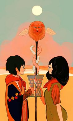 Two of cups by LittleThunder, via Flickr