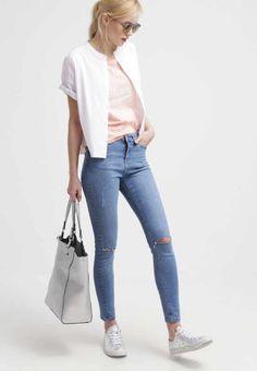 TWINTIP T-shirt z nadrukiem - coral/white - Zalando.pl