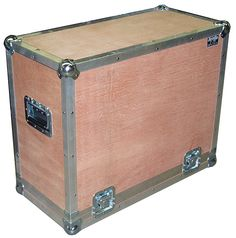 RoadcasesUSA Bare wood flight case.