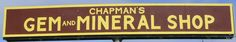 Chapman's Gem and Mineral Shop, one of my favorite places to visit in Humboldt County, CA.
