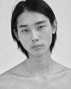 Korean Male Models, Asian Male Model, Asian Models, Top Supermodels, Male Profile, Most Beautiful People, Beautiful Women, Portrait Photography Men, Face Photo