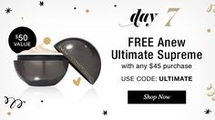 Hi everybody so heres a way you can get your hands on Avons newest skin care product for FREE Day 7 of 12 online holiday offer! Visit www.youravon.com/cindym92 to shop! {: