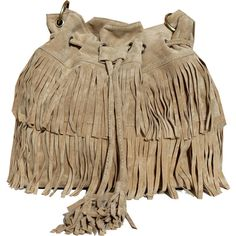 THE CODE HANDBAGS Beige Fringed Bag ($42) ❤ liked on Polyvore featuring bags, handbags, shoulder bags, brown, shoulder handbags, fringe purse, vegan purses, handbags & purses and fringe handbags