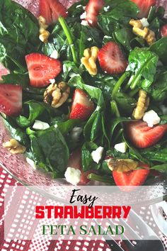 Easy Strawberry Feta