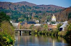 Did you know that Montpelier, Vermont is the smallest U.S. state capital? Rustic and quaint and don't forget the maple syrup or cheese! Imagine the Fall colors here.