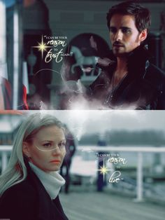 """I can be your reason to trust again.""   ""I can be your reason to live."" i am  a total Captain Swan Shipper!"